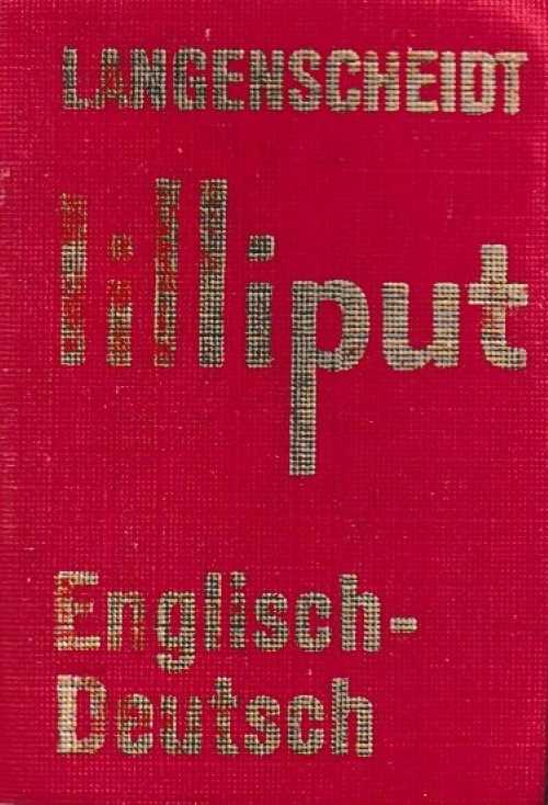 Langenscheidt Lilliput - English - Deutsch